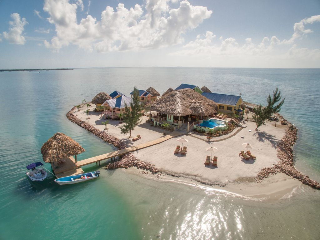 Little Harvest Caye Belize, rent a private island in Belize