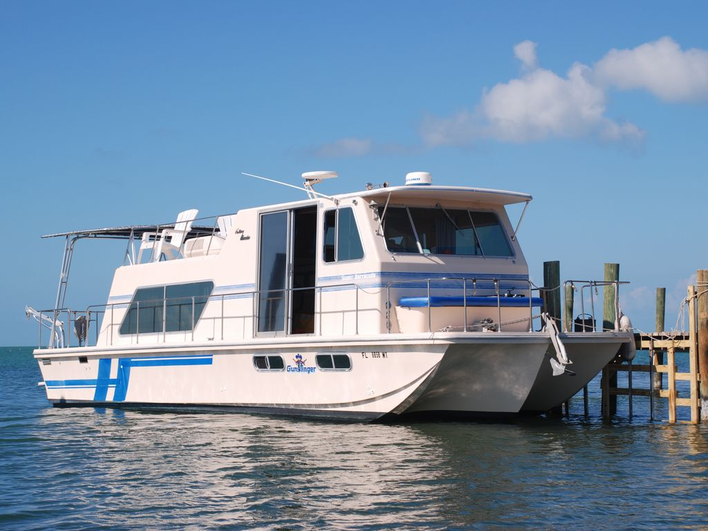 Houseboat on Quiet Cove Key, FL