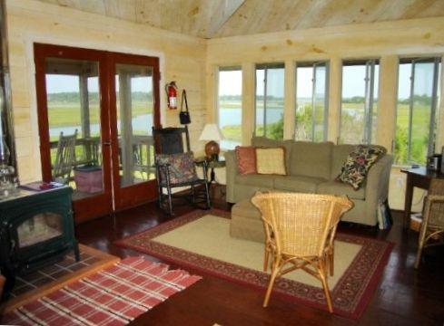 cabin at Sands Island