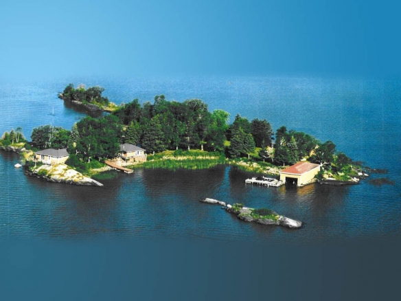 Blackbird island, Minnesota VRBO private island rental