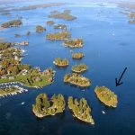 Friendly Island, VRBO private island rentals Thousand Islands, New York
