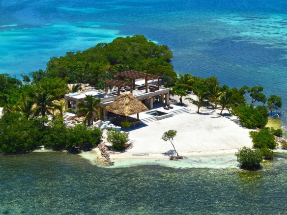 Belize island: Gladden Private Island