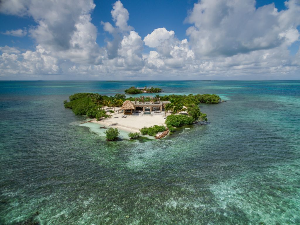Gladden Private Island Belize private island resort