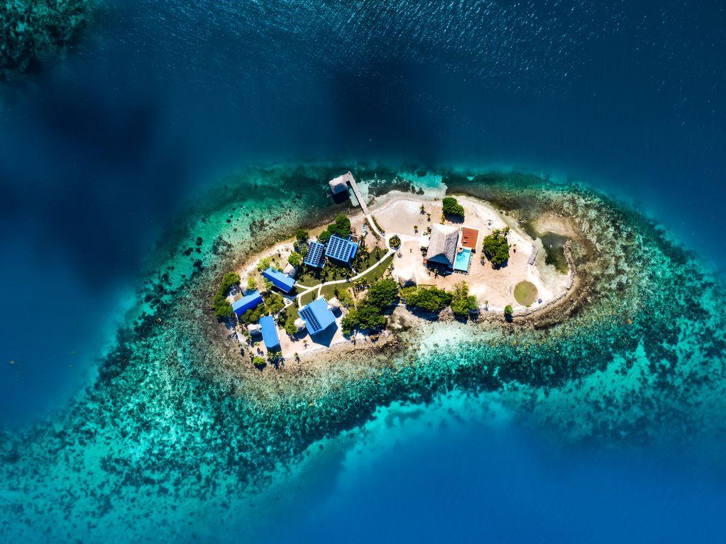 Kanu Island Belize private island rental