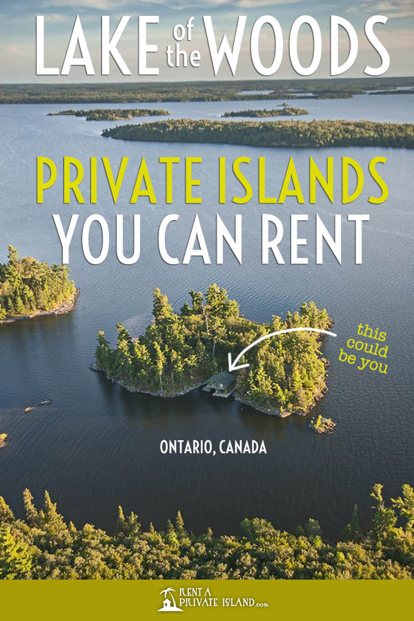 6 Lake of the Woods resorts on private islands you can rent!
