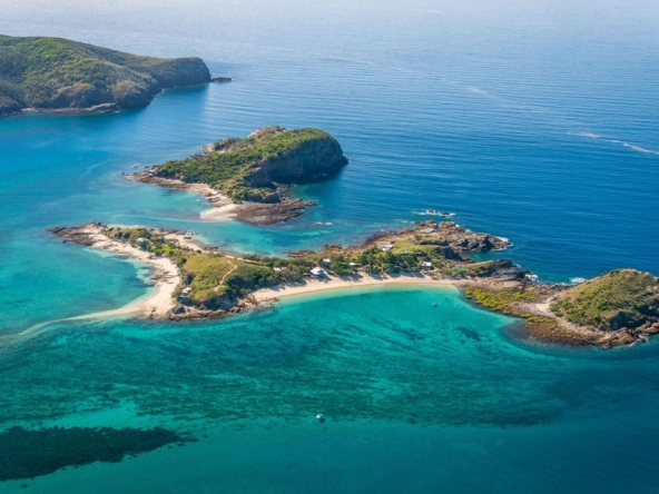 Pumpkin Island, private island rental Great Barrier Reef Australia