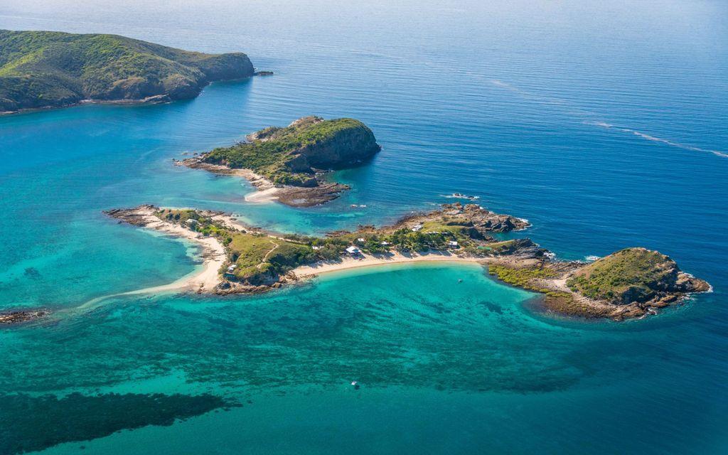 Pumpkin Island, private island rental Great Barrier Reef Australia