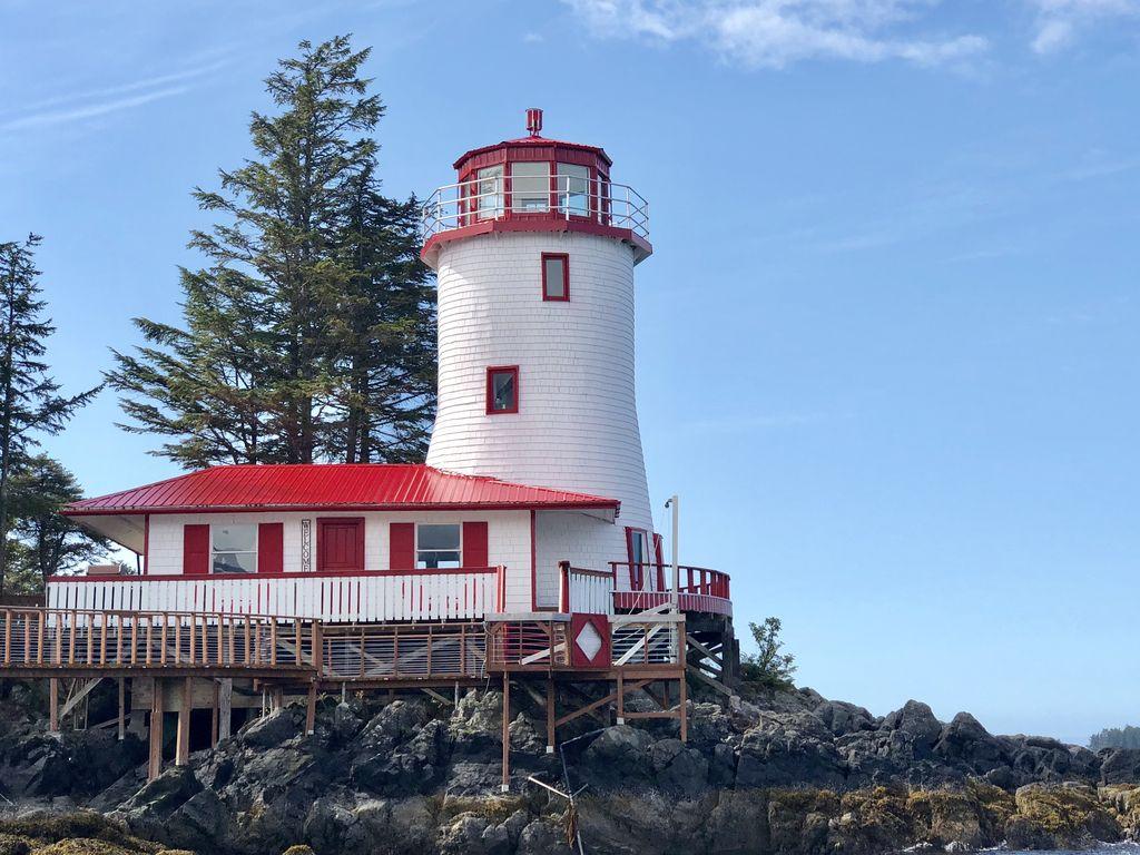 lighthouse rental, private island, Sitka, Alaska