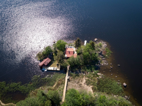 Swedish private island rental