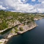 Bikjeholmen private island, Norway