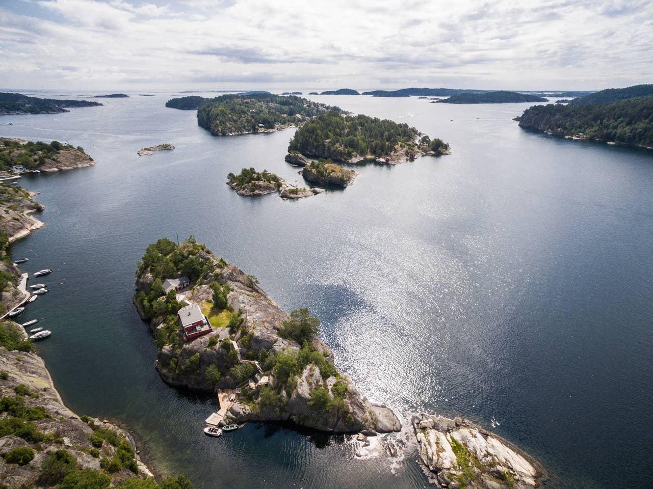 Norway private island rental