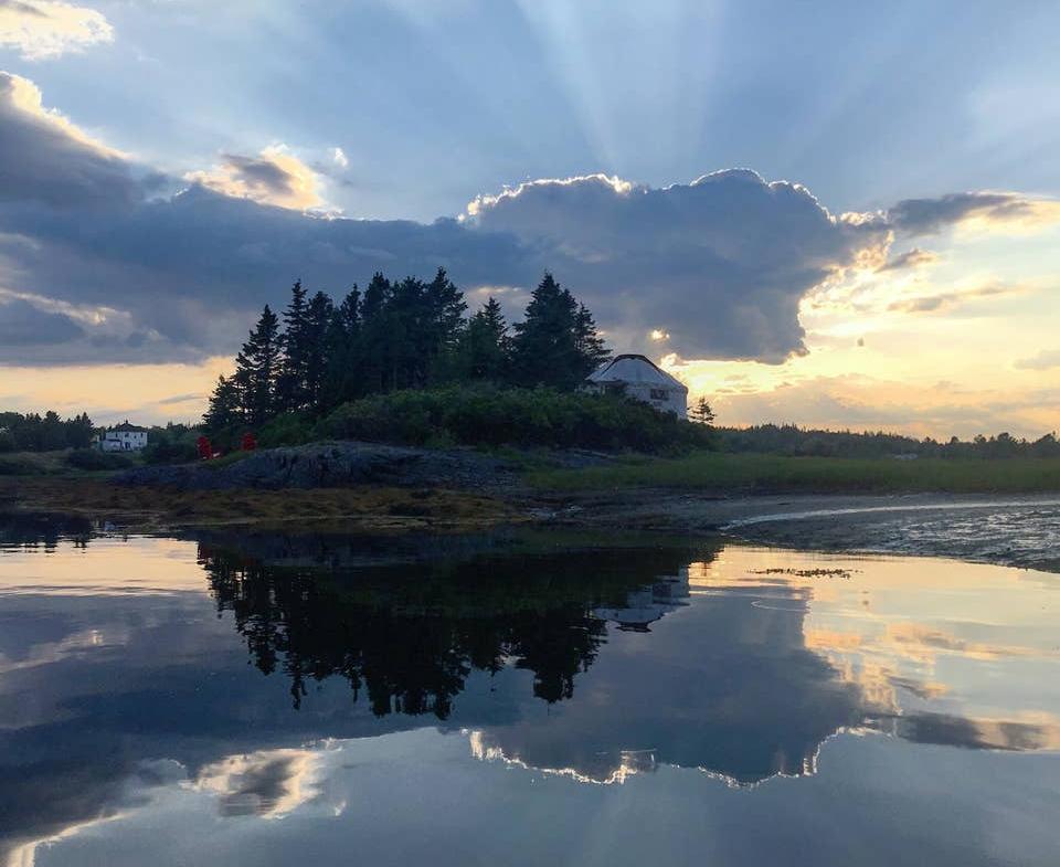 Nova Scotia private island rental