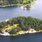Brannskaret, private island Sweden