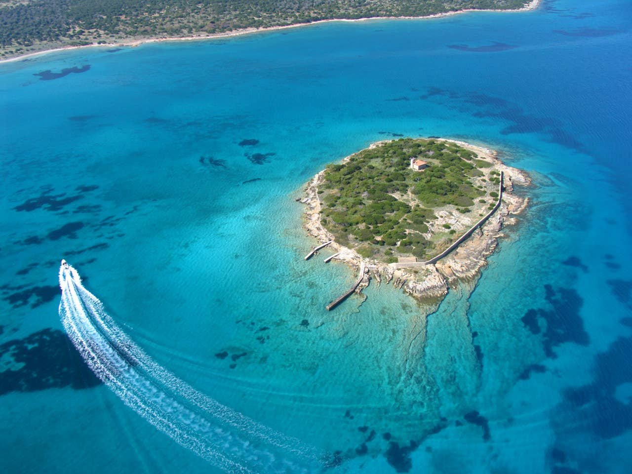 Greece private island rental