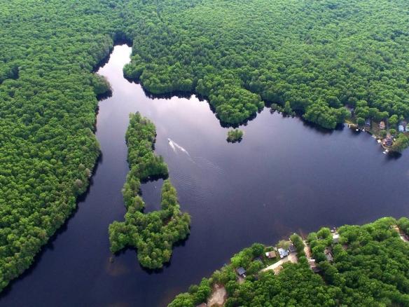 Dodd Island, Whitin Reservoir, MA
