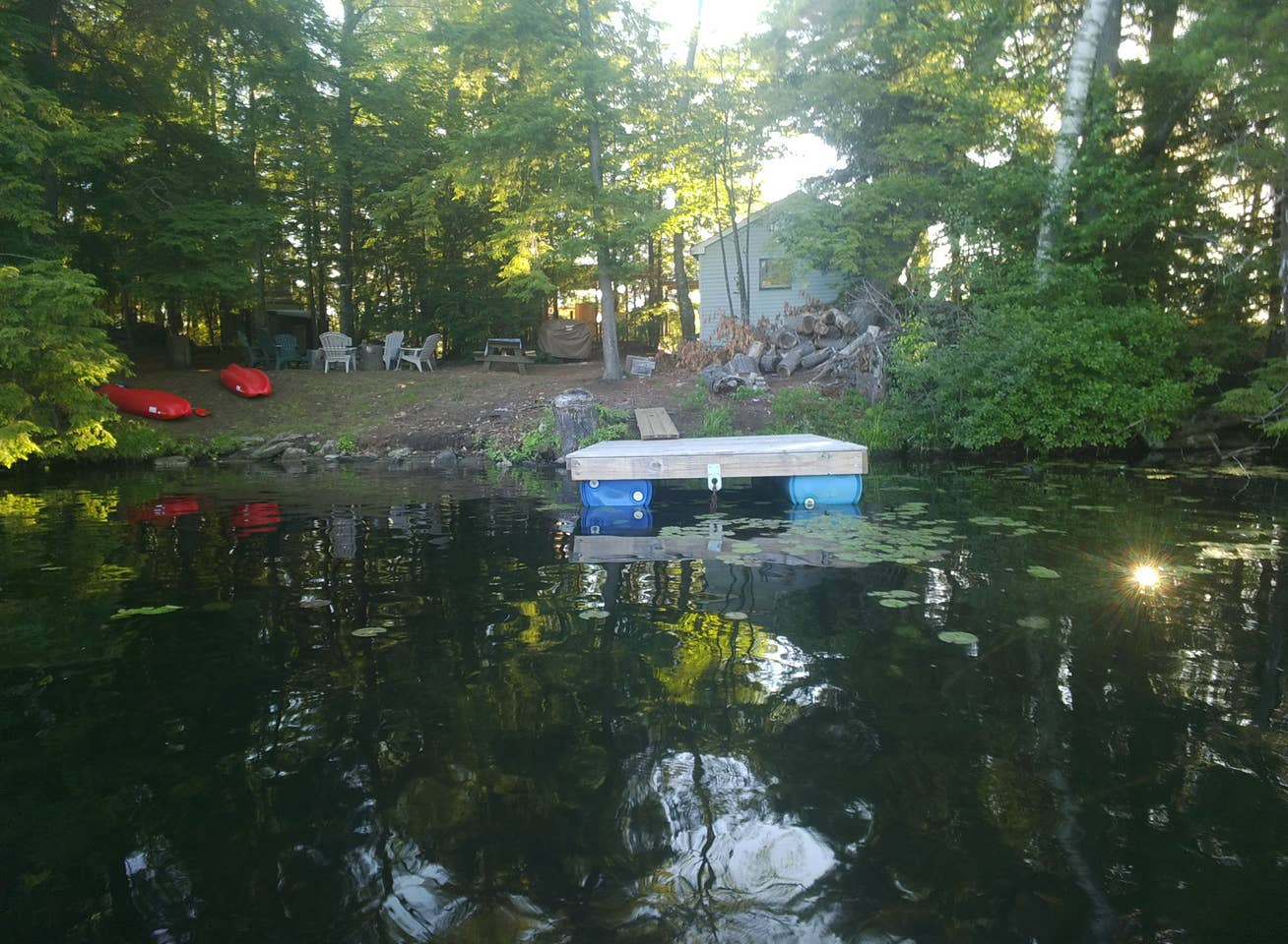 Vermont private island rental