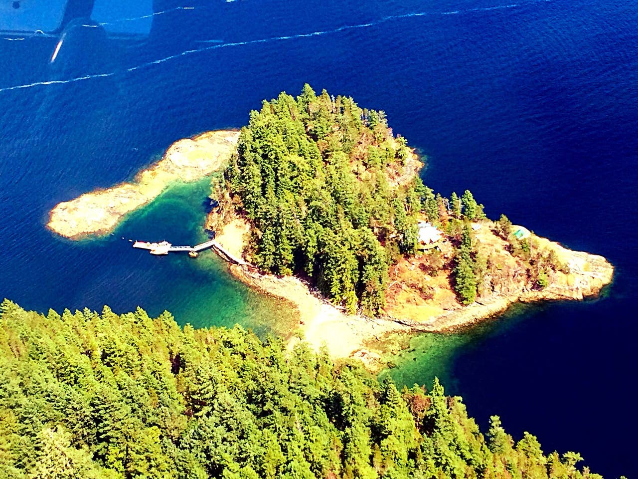 Out There, East Point Islet, British Columbia, Canada