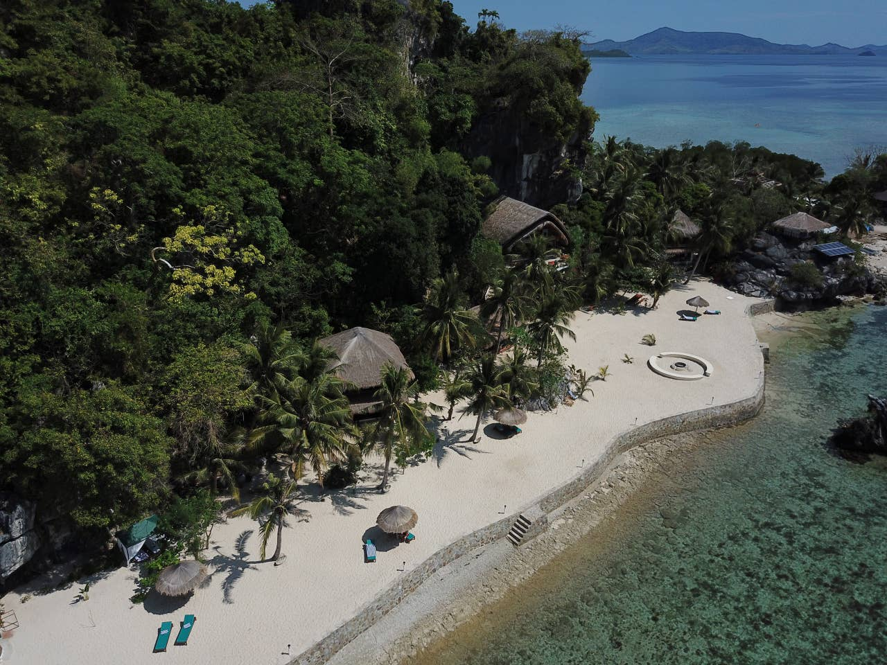 Rent a private island in the Philippines