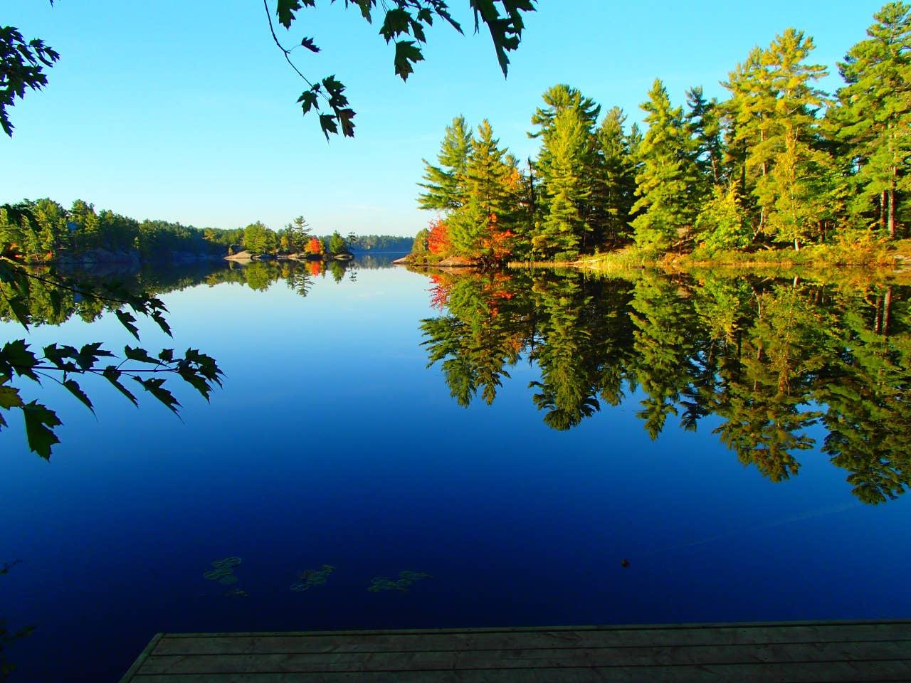 Haddo Island private island rental Ontario