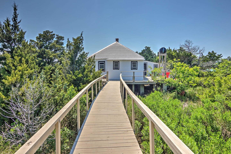 Holly Bluff Island, private island Virginia