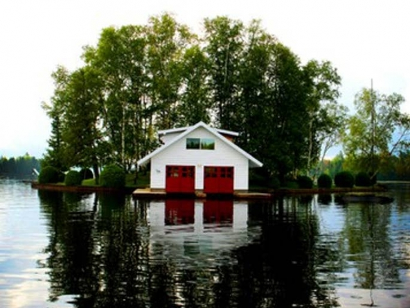 Honeymoon Island, Saranac Lake, New York