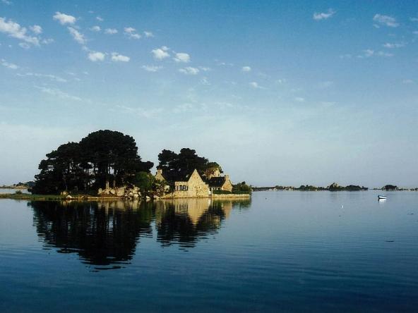 Ile de Coz Castel, France