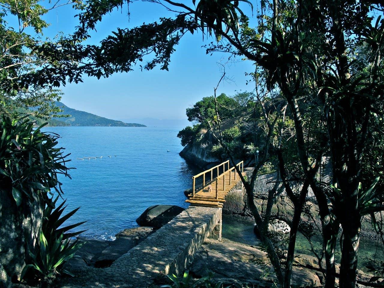 Brazil private island rental