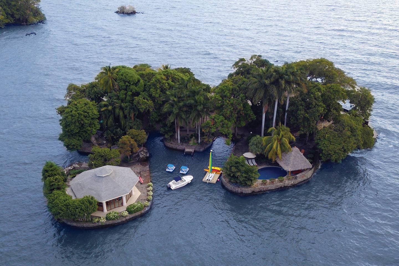 Private island near Granada, Nicaragua