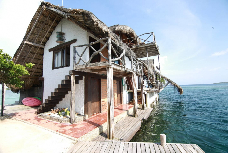 Private island resort Colombia