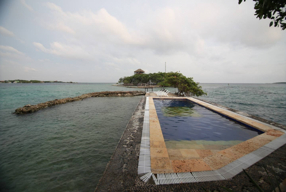 Colombia private island rental