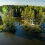 Private island rental in Kymijoki River, Finland