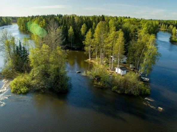 Private island rental in Kymijoki River, Finland