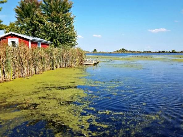 Rusty Buckets Farm private island rental, Wisconsin