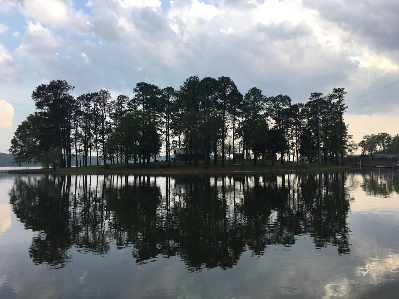 Alabama private island rental