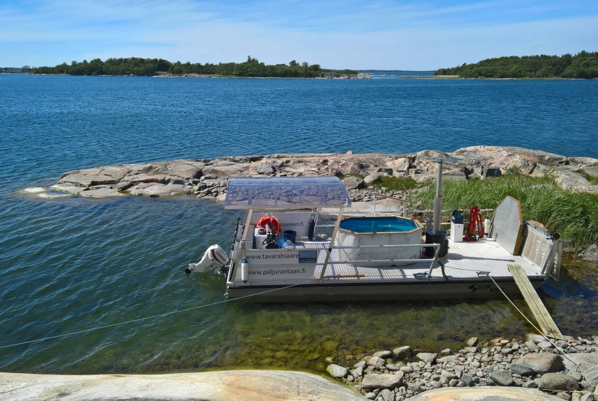 Finland private island rental