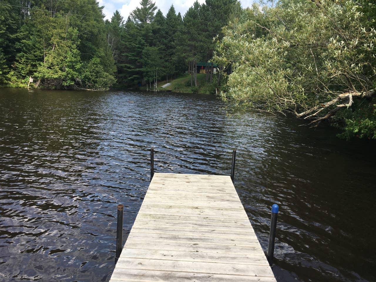 Wisconsin private island rental