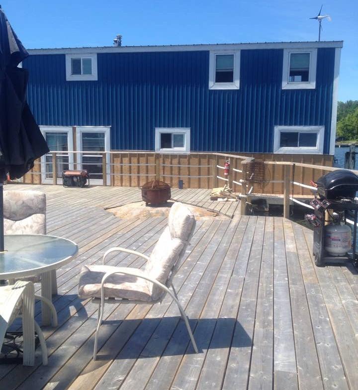 Mallorytown, Ontario private island rental