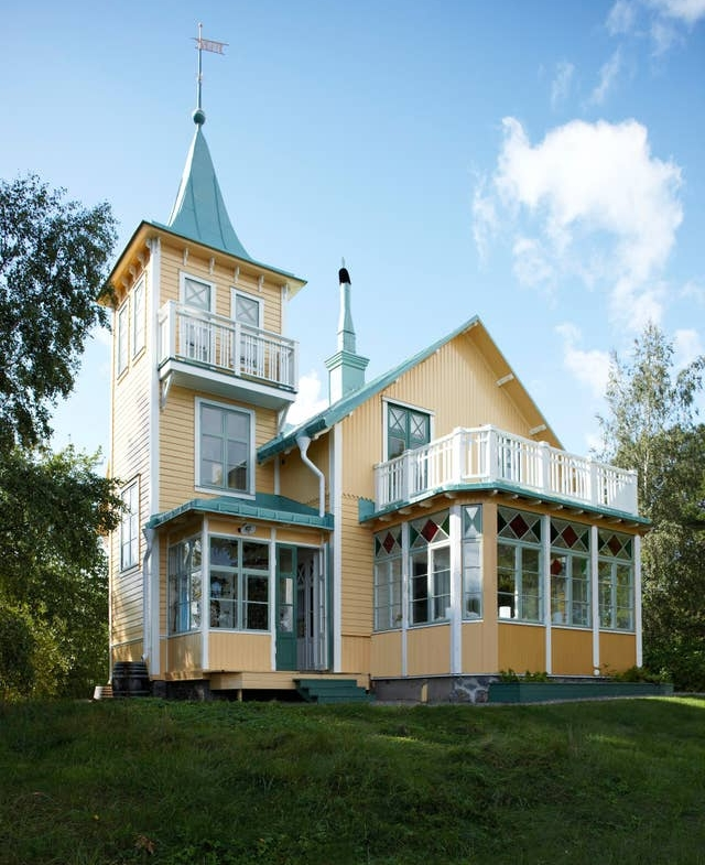 Myrholmen, private island, Sweden