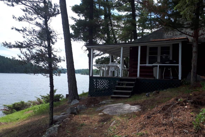 Nestor Falls, Ontario, private island rental