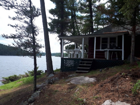Nestor Falls, Ontario, private island rental