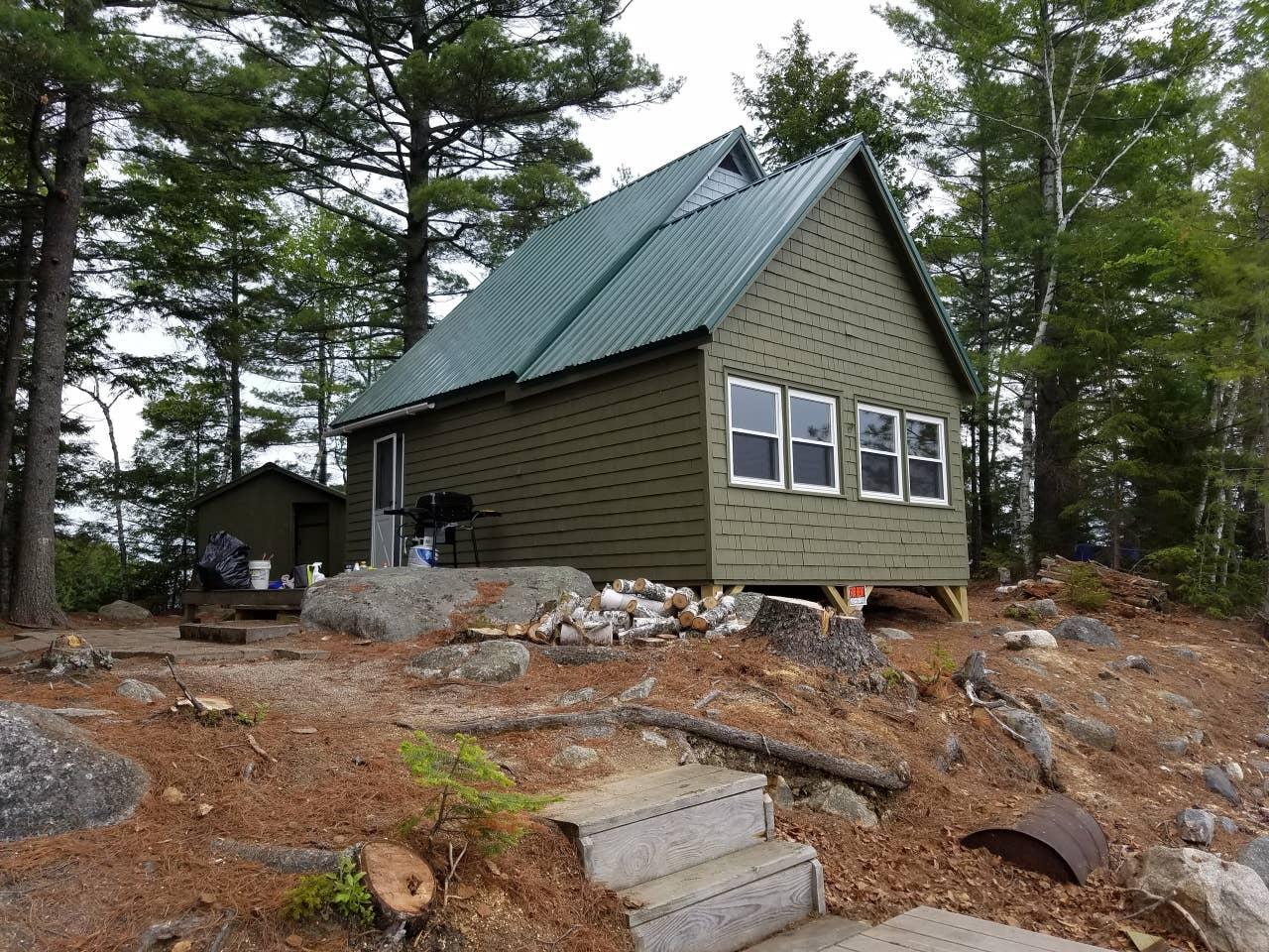 Maine cabin rental