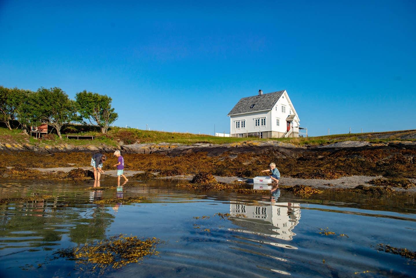 Notholmen Island, Norway