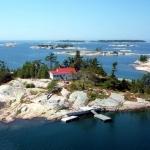 Parry Sound private island rental, Ontario