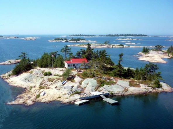 Parry Sound private island rental, Ontario