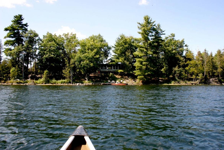Potato Island Resort, private island, Ontario