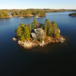 Red Pine Island, Ontario: private island rental