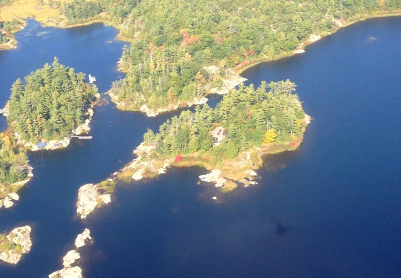Roberts Island, Ontario, private island rental