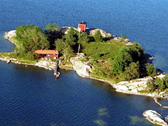 Private island, Stockholm Archipelago, Sweden