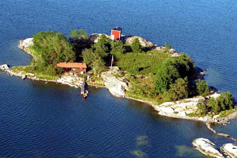 Private island, Stockholm Archipelago, Sweden