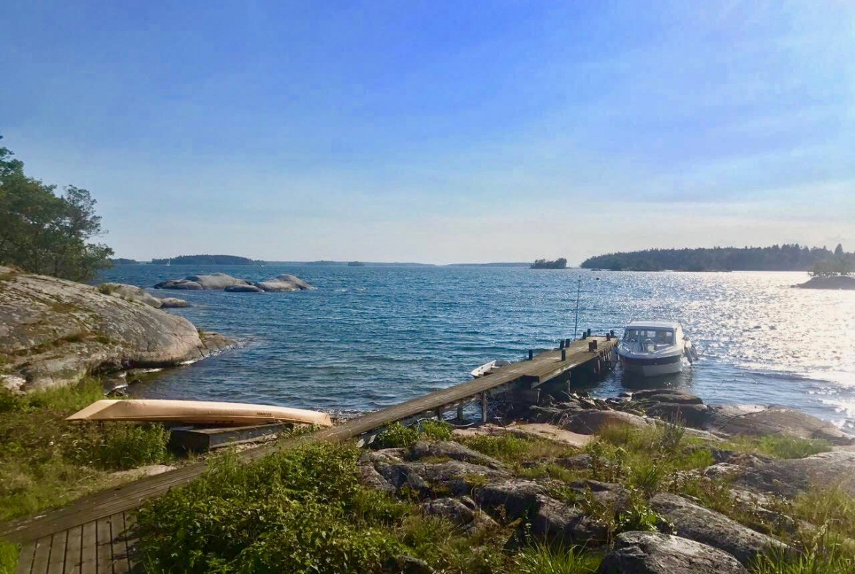 Sweden private island rental
